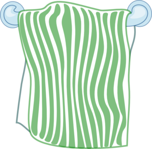 Bath Towel Clip Art