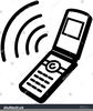Cell Phone Clip Art Clipart Image