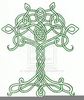 Celtic Tree Of Life Clipart Image