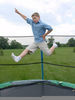 Jumping Trampoline Clipart Image