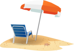 Beach Chair And Umbrella Md Image