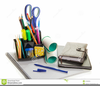 Office Supply Clipart Image