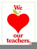 Teacher Appreciation Clipart Image