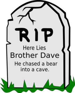 Brother Dave Clip Art