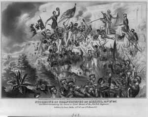 Storming Of Chapultepec In Mexico, Sept. 13th, 1847 Image
