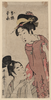 The Joruri Characters, Oume And Kumenosuke Image