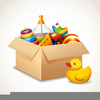 Clipart Toy Box Image