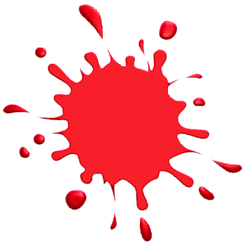 Paint Splatter Images on Paint Splash Red Image   Vector Clip Art Online  Royalty Free   Public