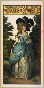 Sweely, Shipman & Co. Present The Duchess Of Devonshire By Mrs. Chas. A. Doremus. Image