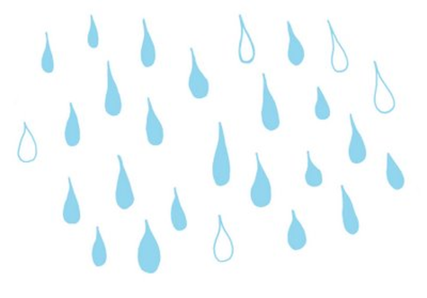 Raindrops | Free Images at Clker.com - vector clip art ...