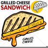 Free Grilled Cheese Sandwich Clipart Image