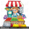 Clipart Of Farmers Market Image