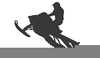 Clipart Snowmobile Image