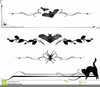 Halloween Divider Clipart Image