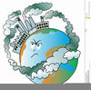 Clipart Of Land Pollution Image