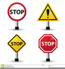 Free Blank Stop Sign Clipart Image