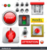 Computer Buttons Clipart Image