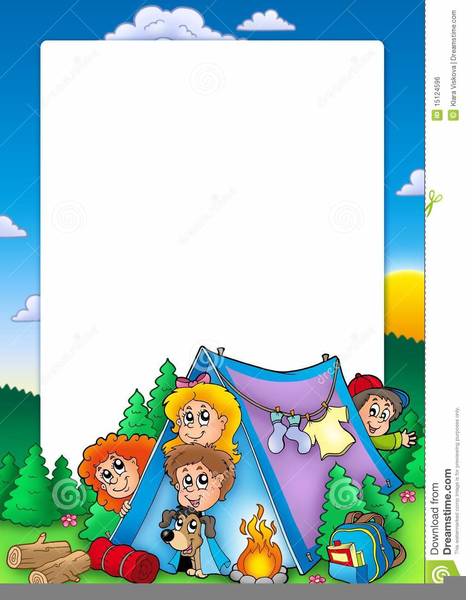 Camping Clipart Backgrounds | Free Images at Clker.com ...