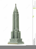 Empire State Building Free Clipart Image