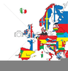 Europe Flag Clipart Image