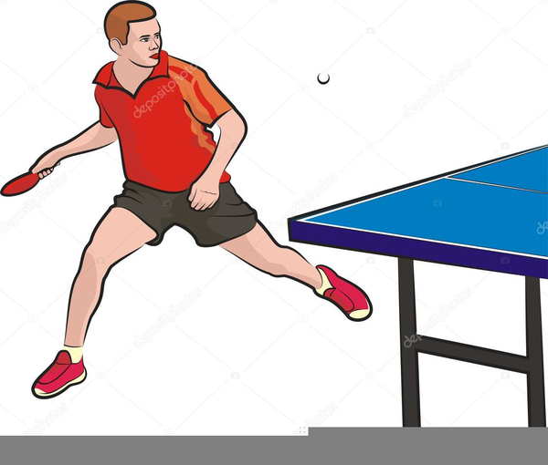 Table Tennis Players Clipart | Free Images at Clker.com ...