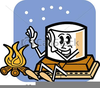 Funny Camping Clipart Image