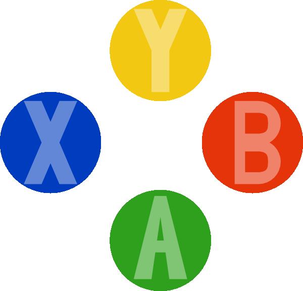 Xbox Controller Buttons Clip Art At Clker Com