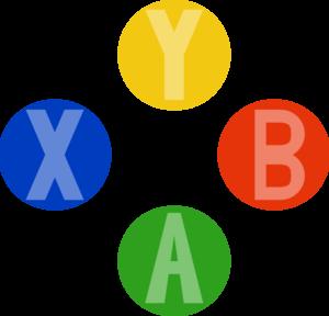 Xbox Controller Buttons Clip ArtXbox X Button
