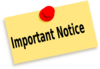 Important Notice Clip Art