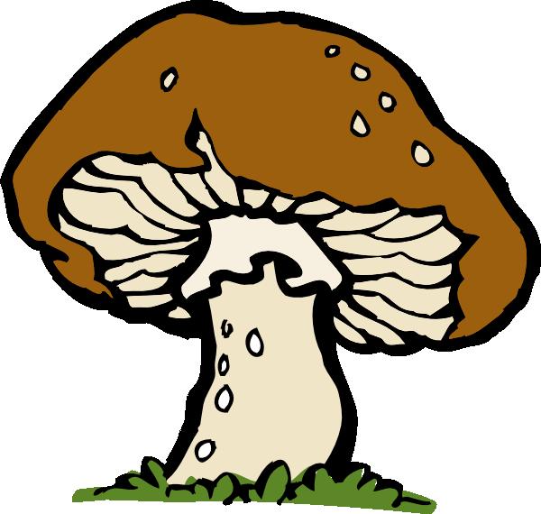 big mushroom clip art at clker com vector clip art online royalty rh clker com fungi clipart fungi bacteria clipart