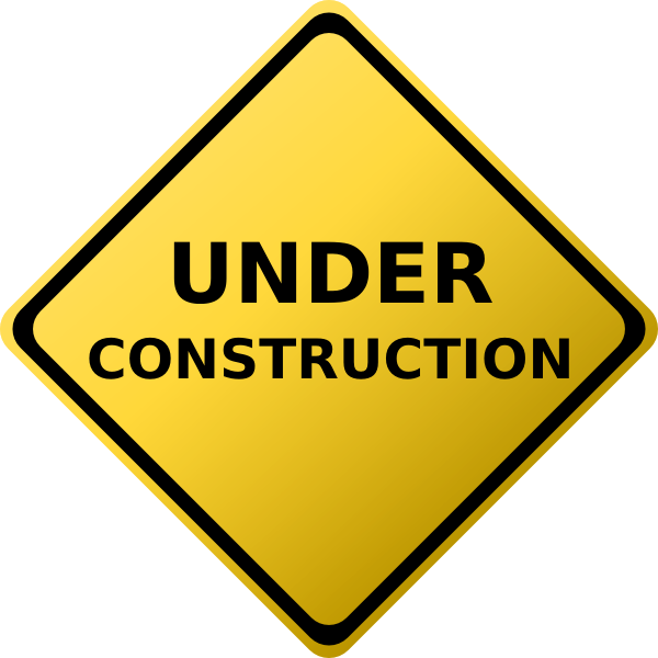 Under Construction Coming Soon Clip Art - Crazy 4 images!