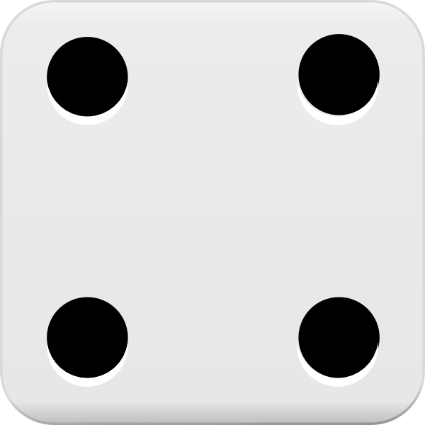 The gallery for --> One Dice Clipart