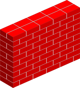 Tall Brick Wall Clip Art