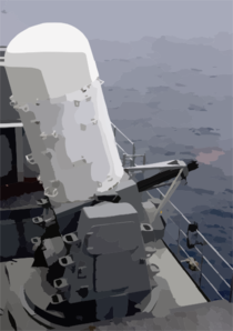 The Close-in Weapons System (ciws) Clip Art