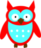 Red Owl Clip Art