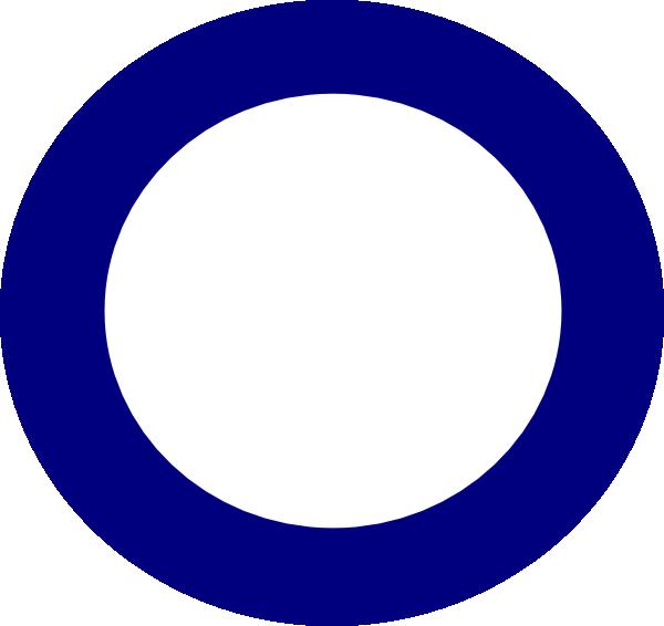 blue circle clip art - photo #11