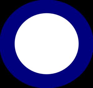 Circle blue. Clip art at clker