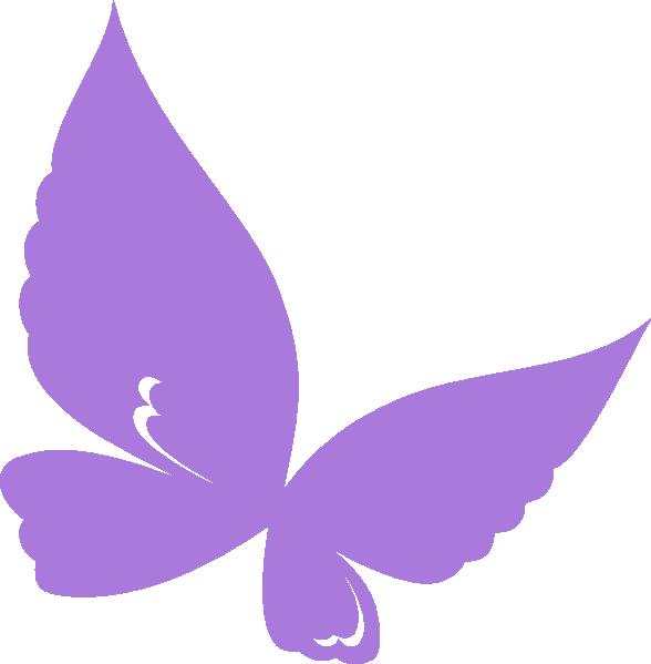 purplebutterfly clip art at clkercom vector clip art