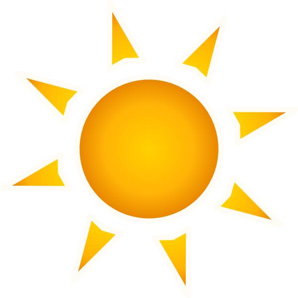 Sun Clip Art At Clker Com Vector Clip Art Online