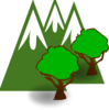 Mountain Forest Clip Art