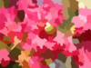Flower Bokeh Effect Clip Art