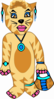 Tiger Costume Clip Art