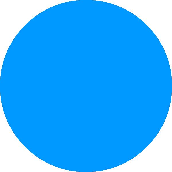 blue circle clip art - photo #4