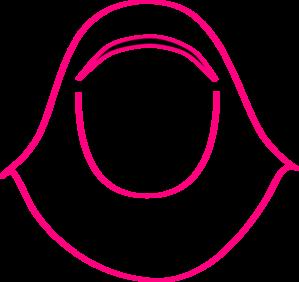 Pink Hijab Clip Art