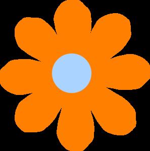 orange flower clip art at clker com vector clip art online rh clker com pink and orange flower clip art Yellow Flower Clip Art