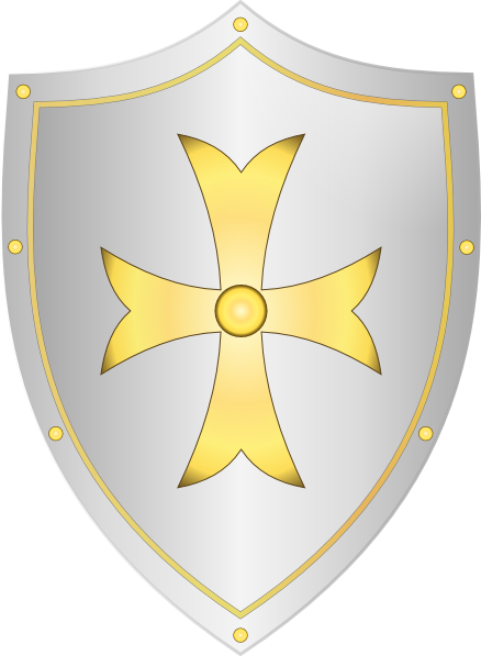 Medieval Shield Clip Art at Clker.com - vector clip art ...