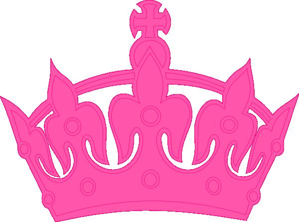 pink crown clip art at clker com vector clip art online royalty rh clker com pink crown clip art free