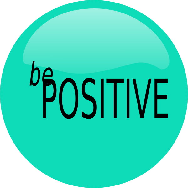 how to be positive at work