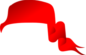 Red Ribbon 2 Clip Art