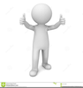Man Celebrating Clipart Image